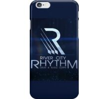 River City Rhythm Products - Blue Drum Corps logo iPhone Case/Skin