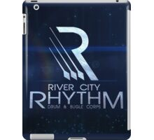 River City Rhythm Products - Blue Drum Corps logo iPad Case/Skin