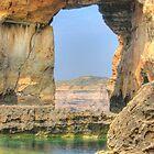 Azure Window, Dwejra, Gozo by Rosalie M