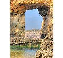 Azure Window, Dwejra, Gozo Photographic Print