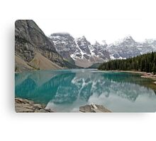 Lake Moraine - Banff National Park - Alberta - Canada  Canvas Print