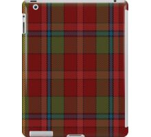 00420 Golden Broom #2 Tartan  iPad Case/Skin