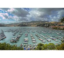 Lerici - The Bay - Italy Photographic Print