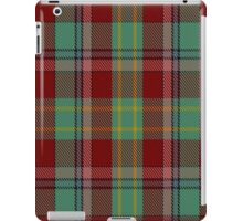 00419 Golden Broom Tartan  iPad Case/Skin