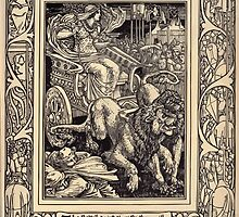 Spenser's Faerie queene A poem in six books with the fragment Mutabilitie Ed by Thomas J Wise, pictured by Walter Crane 1895 V4 65 - The Battell twixt three Brythren by wetdryvac