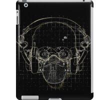 The Silence on Black iPad Case/Skin