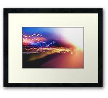 Following Light... Framed Print