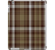 00412 Brown Watch Dress Tartan  iPad Case/Skin