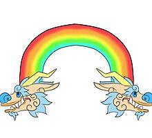 Rainbow Dragon by Lanoya