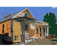 """Vintage Home"" Photographic Print"