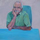 Portrait Graham Exelby  by Virginia McGowan