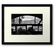 Not just another window Framed Print