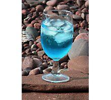 Martini On The Rocks Photographic Print