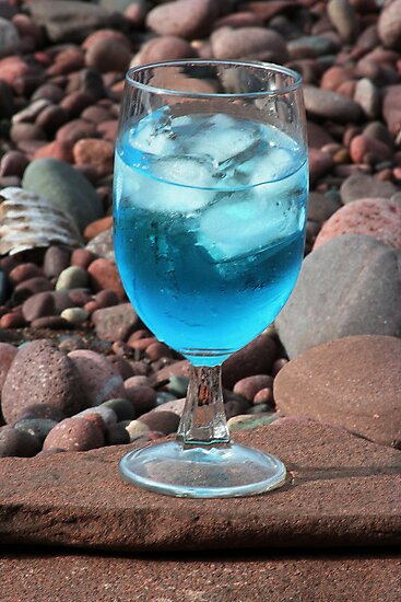 Martini On The Rocks by Karen K Smith