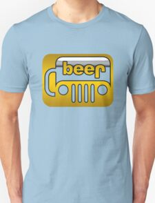 Beer Jeep Unisex T-Shirt