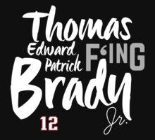 Thomas Edward Patrick F'ing Brady One Piece - Short Sleeve