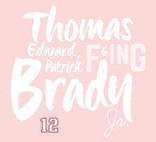 Thomas Edward Patrick F'ing Brady One Piece - Long Sleeve