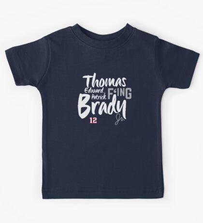 Thomas Edward Patrick F'ing Brady Kids Tee