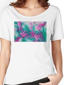 Summer Blooms Women's Relaxed Fit T-Shirt
