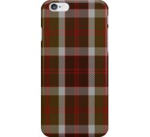 00398 Bannockbane Brown Tartan iPhone Case/Skin