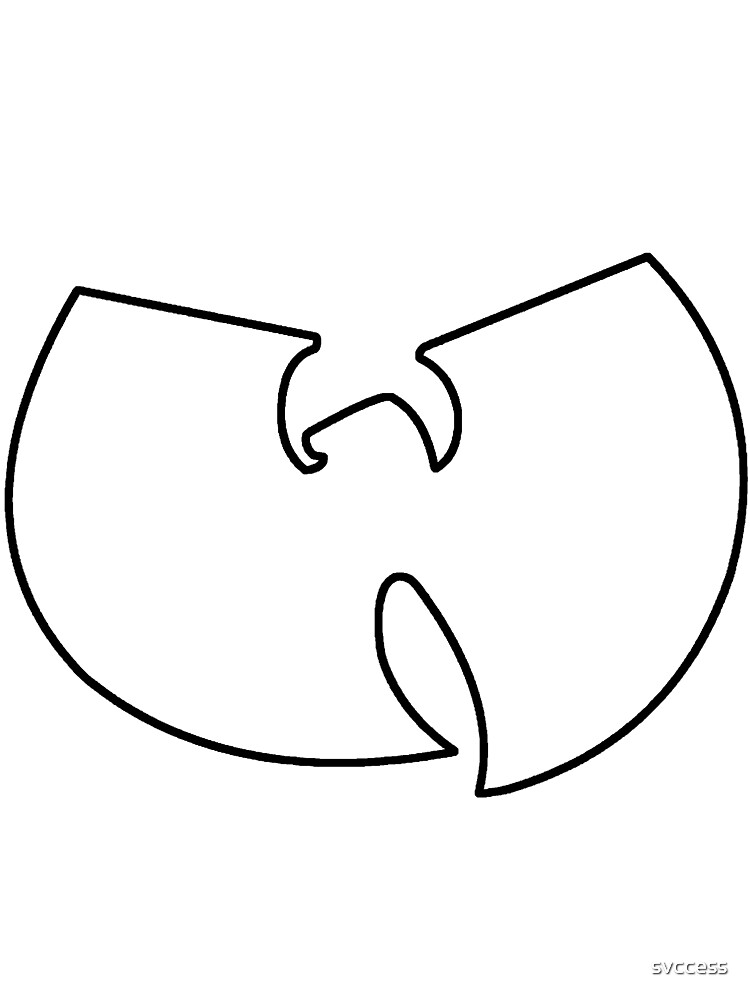 Wu Tang Logo Outline 2018 Images Pictures T Shirt Wu Wear Wu