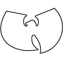 Wu-Tang outline by svccess