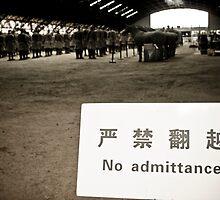 No Admittance by Guillaume Deslandes