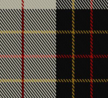 00396 Brodie Fashion Tartan  Sticker