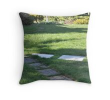 Criss Crossed Throw Pillow