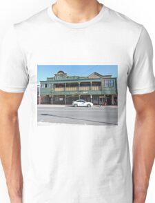 Hunters Hotel, Queenstown, Tasmania Unisex T-Shirt