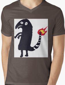 Shartmander Mens V-Neck T-Shirt