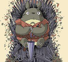 The Umbrella Throne by saqman
