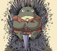 The Umbrella Throne by saqman