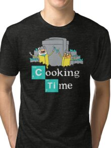 Adventure Time Cooking Time Tri-blend T-Shirt