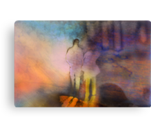 A Walk With Perception Canvas Print