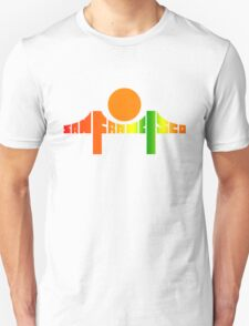 San Francisco from Death Proof T-Shirt