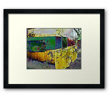 ~~ Give me a Home ~~``Among the Gum Trees~~Caravan  Framed Print