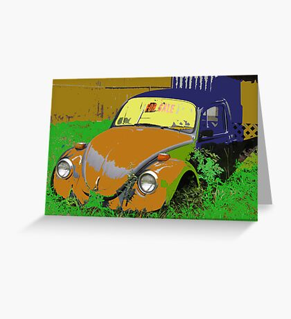 """""""V W- Oldies But Goodies"""" Greeting Card"""