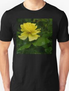 Yellow Rose Pearls Unisex T-Shirt
