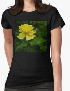 Yellow Rose Pearls T-Shirt