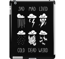Know Your Weather iPad Case/Skin