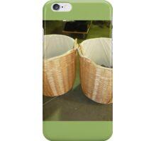 Baskets at Lavender Farm - Gordon. Vic. iPhone Case/Skin