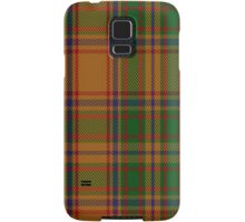 00386 Bird of Paradise Tartan  Samsung Galaxy Case/Skin