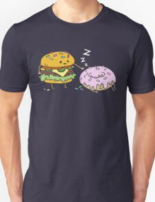 Cheeseburger Pranks Doughnut T-Shirt