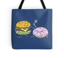 Cheeseburger Pranks Doughnut Tote Bag