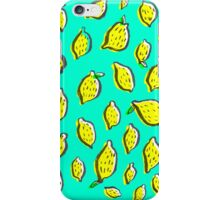 Limones de primavera iPhone Case/Skin