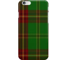00384 Beard Family Tartan  iPhone Case/Skin