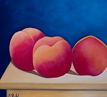 Luscious Peaches by QiQiGallery