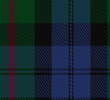 00381 Baird Family Tartan  Sticker
