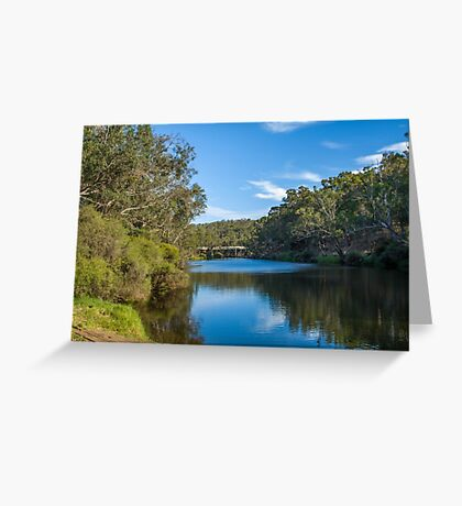 Blackwood River, Bridgetown, Western Australia #4 Greeting Card